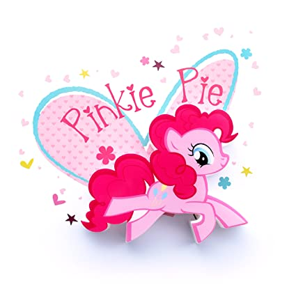 amazon com 3d light fx my little pony pinkie pie 3d deco mini sized