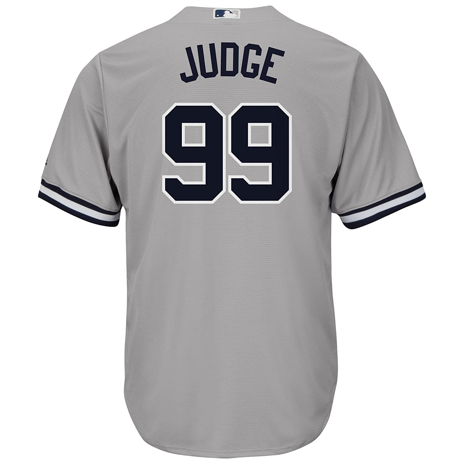 72e9878f97c Amazon.com   Outerstuff Aaron Judge New York Yankees  99 Youth Cool Base  Road Jersey Gray   Sports   Outdoors