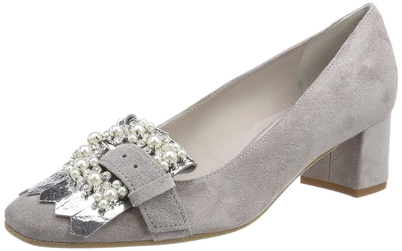 Grau (Alu Crystal Sohle Weiß) Kennel und Schmenger Damen Isabel Pumps