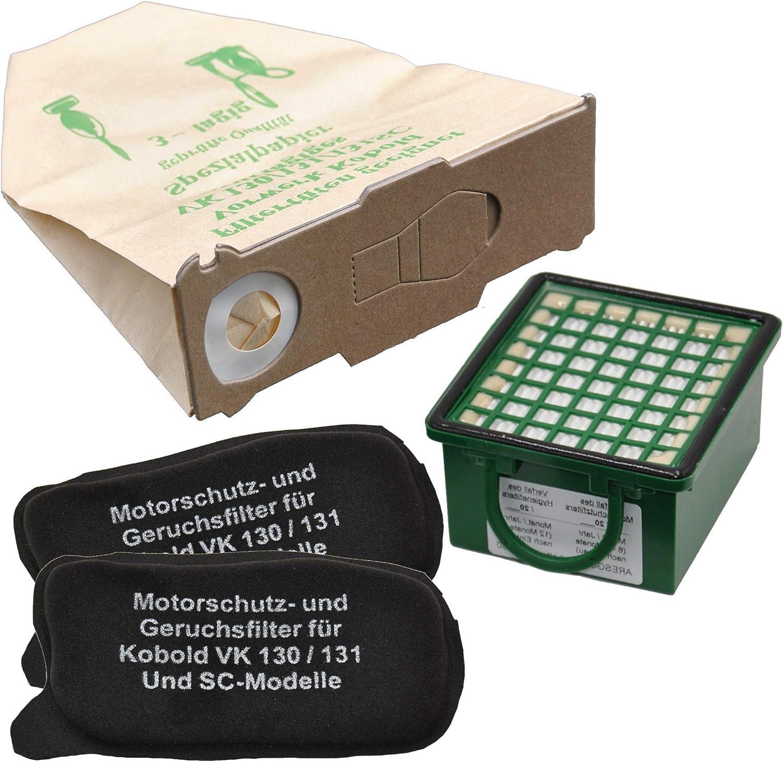 131 e SC-Modelle 20 Sacchetti per aspirapolvere indicato adatto per Vorwerk Foletto Kobold 130
