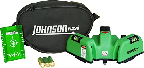 Johnson Level Tool 40-6622 Heavy Duty Flooring Laser with GreenBrite Technology
