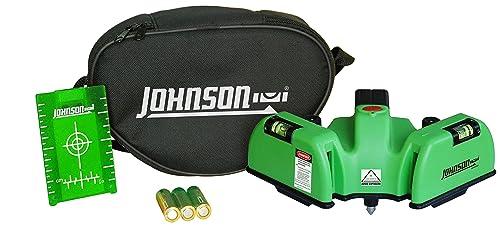 Johnson Level & Tool 40-6622 Floor Laser, Green Beam
