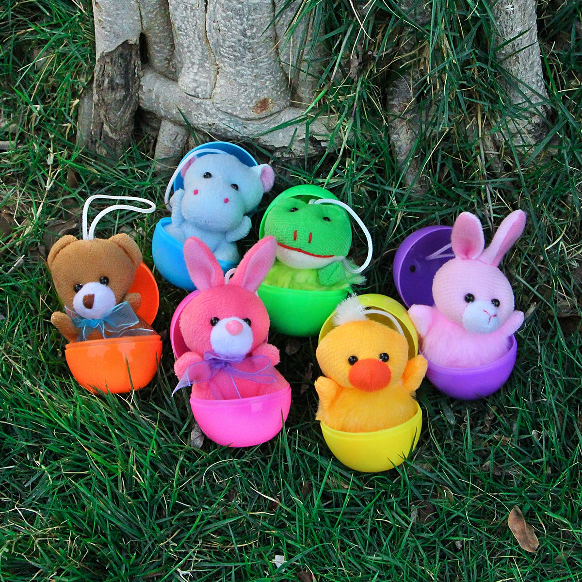 Super Soft Stuffed Animals For Babies, Aitbay Cute Small Stuffed Animal Keychain Set For Party Favors Carnival Prizes For Kids Prize Box Toy Assortment For Classroom Rewards 30 Pack Mini Plush Animals Toys Set Goodie Bag Fillers Party