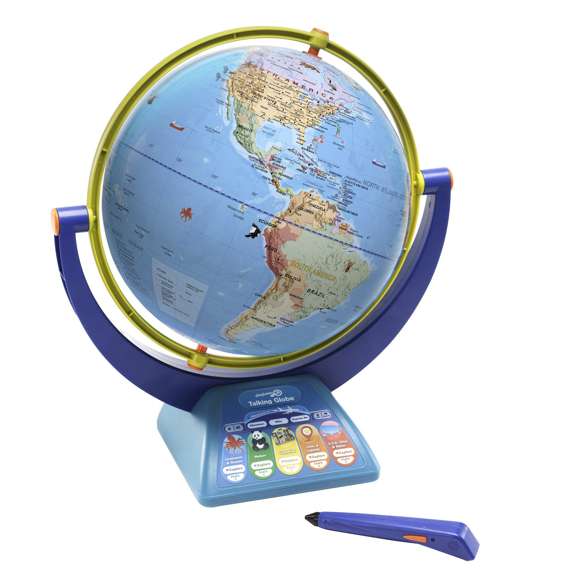 Educational Insights Geosafari Jr. Talking Globe-Featuring Bindi Irwin-Learning Toy