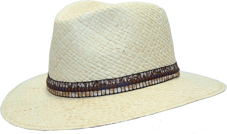 Kakadu Traders Australia Chapeau d/ét/é fabriqu/é /à la main en Italie