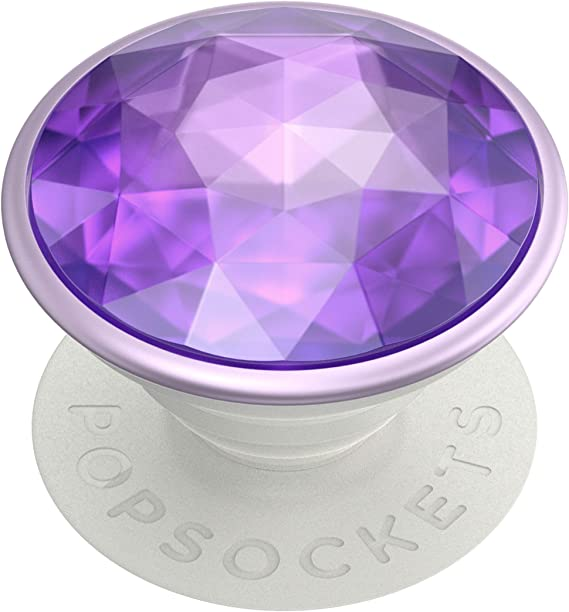 PopGrip with Swappable Top for Phones /& Tablets PopSockets Galaxy Purple Tidepool
