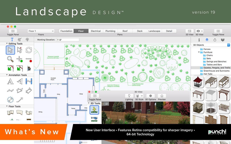 Amazon.com: Punch! Landscape Design for Mac v19 [Download]: Software