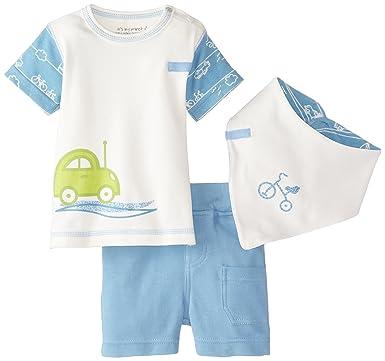 13bbd5f49 Amazon.com  It s My Planet Baby Boys Newborn Organic Cotton T-Shirt ...