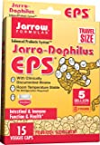 Jarrow Formulas Jarro-Dophilus EPS Travel Size, 5 Billion Cells Per Capsule, Supports Intestinal Function and Health, 15 Veggie Capsules