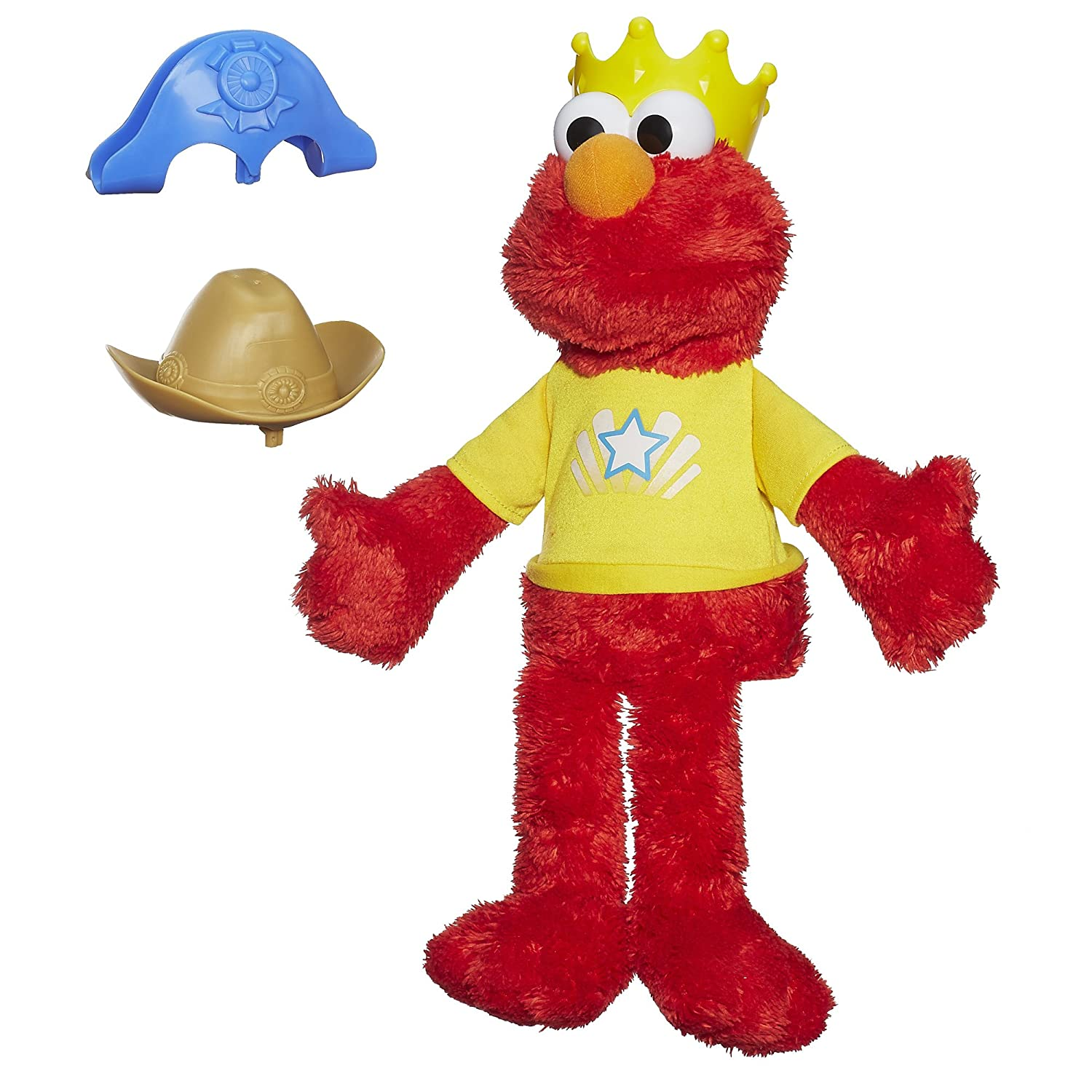 Amazon.com: Sesame Street Let\'s Imagine Elmo Toy: Toys & Games