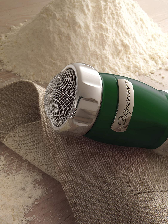 Green Flour Cocoa Dispenser Marcato Sugar