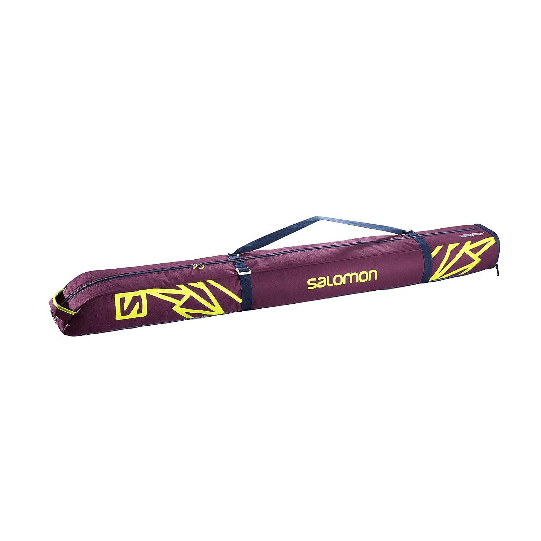 SALOMON Extend 1P 165+ 20Ski Skibag–Tasche für Erwachsene, Unisex, Mehrfarbig–(Maverick/Acid Lime)