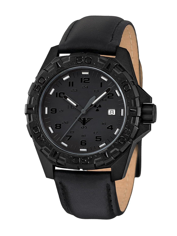 KHS Tactical Watches Reaper XTAC MilitÄr Armbanduhr Nato black KHS.REXT.L