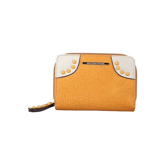 BENETTON cartera mujer 14A73776 amarillo - mujer - TU