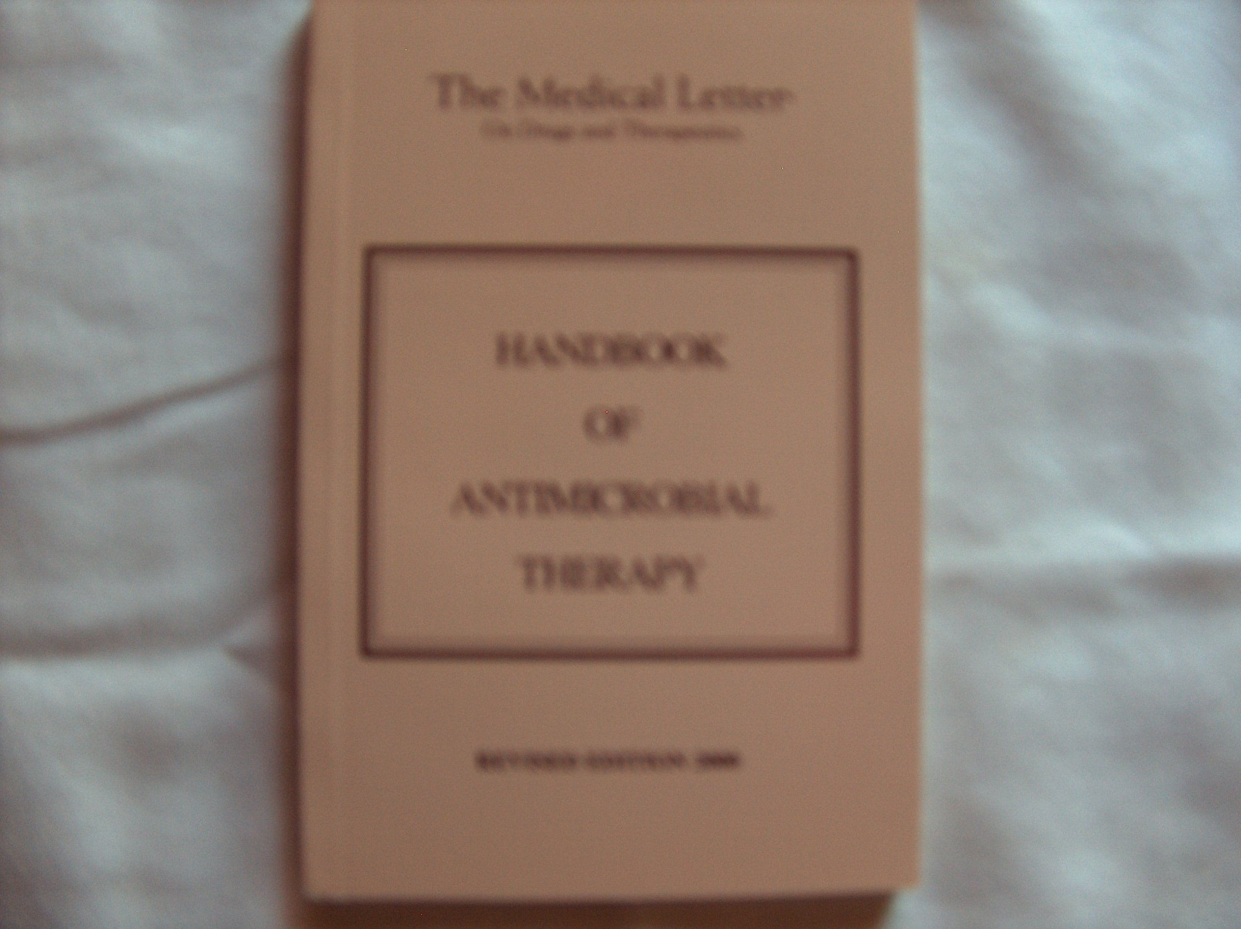 Download Handbook of Antimicrobial Therapy PDF