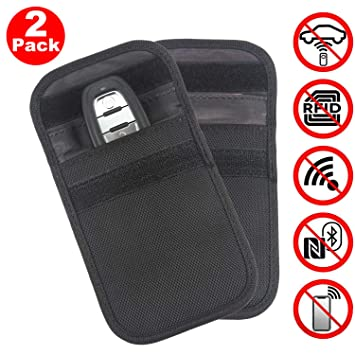 RFID Signal Blocking Nouvelle Version 2 X Voiture BeskooHome Clé Signal Blocker