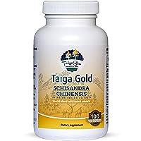 TAIGASEA Schisandra Chinensis Supplement, Wild Siberian Herbal Extract Blend for Mental Focus, Sharp Brain Functions, Enhanced Energy Metabolism, Liver Detox, Immunity Boost, 100 Vegetarian Capsules