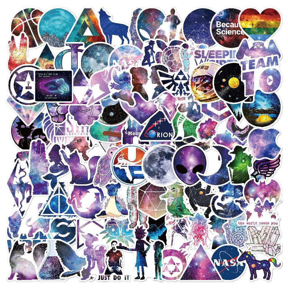 Stickers Calcos 100 un. Surtidos Origen U.S.A. (7MX1LDQM)