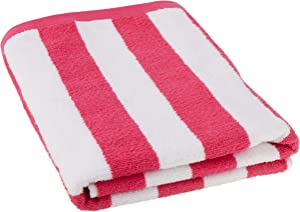 """Sweet Home Collection 100% Cotton Havana Stripe Beach Towel (4 Pack), 30"""" x 60"""", Teal"""