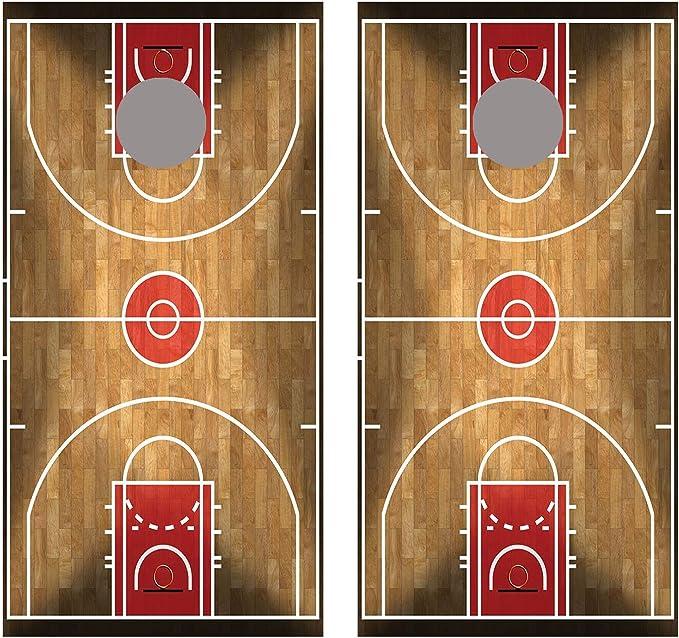 Details about  /Cornhole Board Decals Wraps Set of 2 Vinyl Louisville Cardinals Basketball Combo