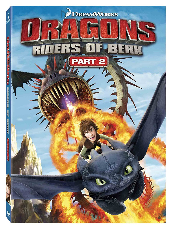 Amazon: Dragons: Riders Of Berk Part 2: America Ferrera, Jay Baruchel,  Tj Miller, Zack Pearlman, Christopher Mintzplasse, Nolan North, Chris  Edgerly,