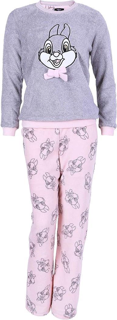 Disney -- Bambi - Pijama - para mujer gris gris: Amazon.es: Ropa