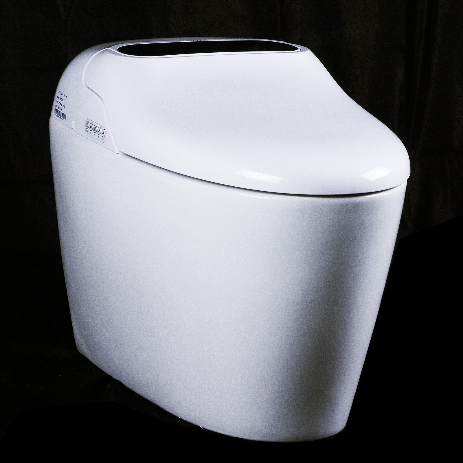 Euroto Luxury Smart Toilet One Piece Toilet with Soft Closing Heated Seat European Design Elongated for Bathroom Toilet Bowls, Toilets, and Toilet Seats by EUROTO (Image #2)