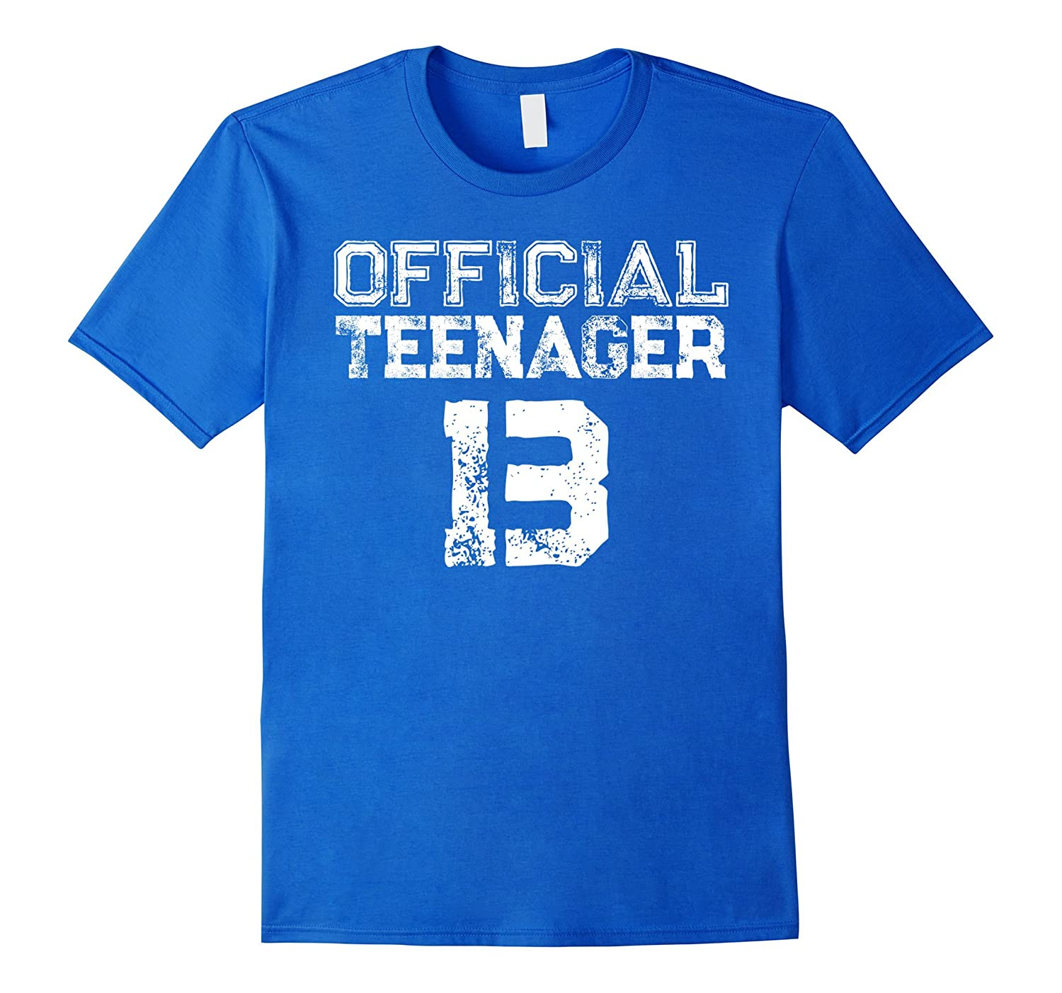 Official Teenager 13 -13th Thirteen Birthday T-Shirt-RT