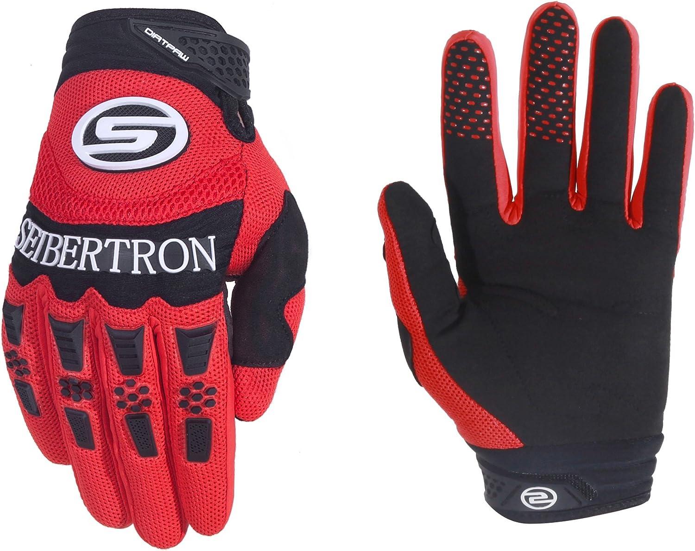 Seibertron Herren Handschuhe Dirtpaw Race Fahrrad Handschuhe sporthandschuhe f/ür Radsport MTB Mountainbike Outdoor Sport Bike Gloves