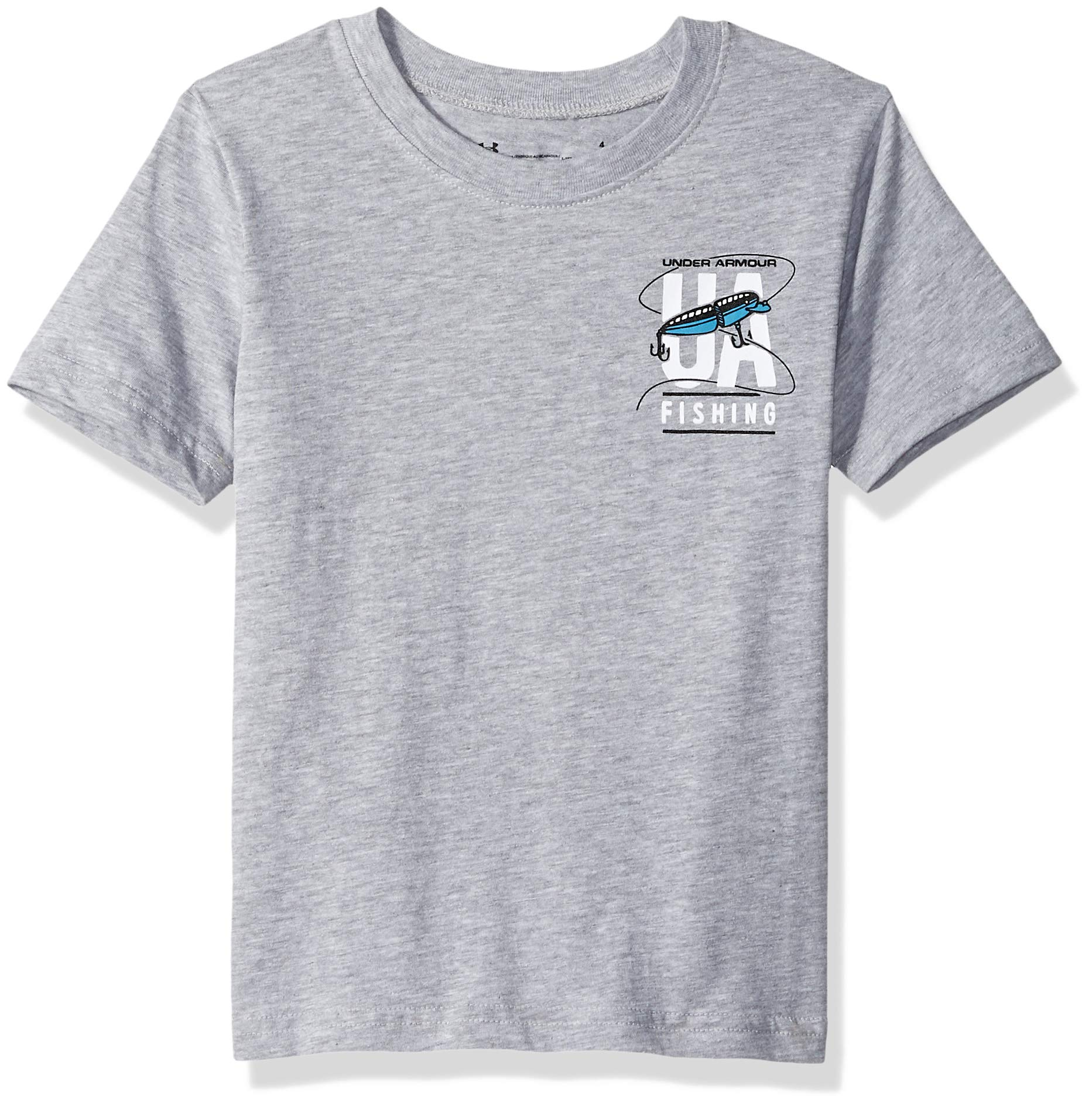Under Armour Boys' Little Graphic SS Tee Shirt, Light/Pastel Gr-S192 6