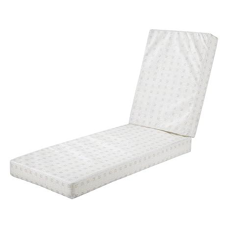 Delightful Classic Accessories Montlake Patio Chaise Cushion Foam, 72x21x3u0026quot; ...