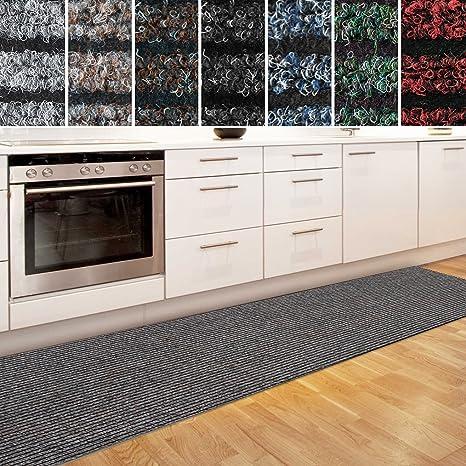 casa pura Küchenläufer Granada in großer Auswahl | strapazierfähiger  Teppich Läufer für Küche Flur UVM. | Rutschfester Teppichläufer/Flurläufer  für ...