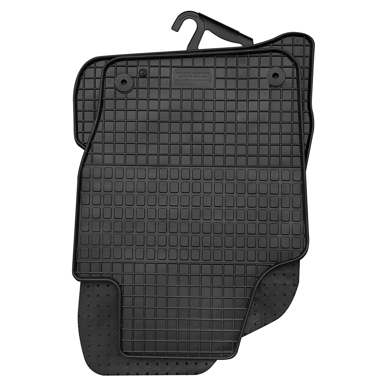 GERCAR Passgenaue Gummimatte 4-teilig in schwarz B014 f/ür Seat Ibiza ab 06//2008-05//2017 und Ibiza ST ab 06//2010-05//2017 Passform Fu/ßmatten inklusive Befestigungssystem