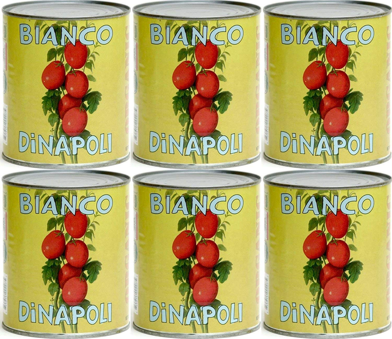Amazon Com Bianco Dinapoli Organic Whole Peeled Tomatoes 28 Oz 6 Pack Grocery Gourmet Food