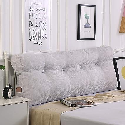 Magnificent Amazon Com Roner Large Bedside Cushion Bed Backrest Machost Co Dining Chair Design Ideas Machostcouk