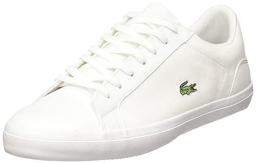 Lacoste Tenis Blanco Lerond 316 1 Tenis para Hombre Blanco Talla 26.5 09b5ed16c3