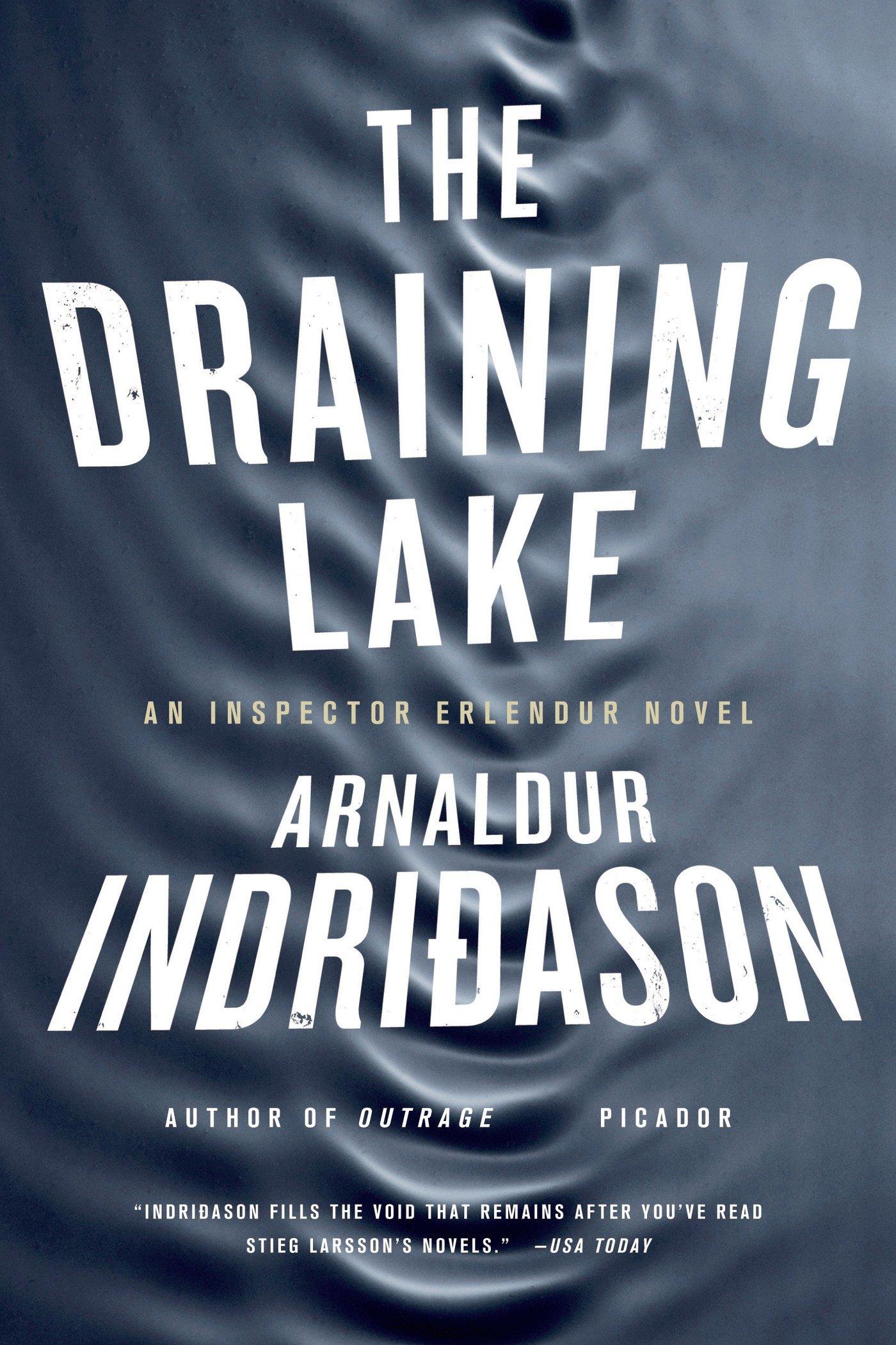 Amazon: The Draining Lake: An Inspector Erlendur Novel (an Inspector  Erlendur Series) (9780312428587): Arnaldur Indridason: Books