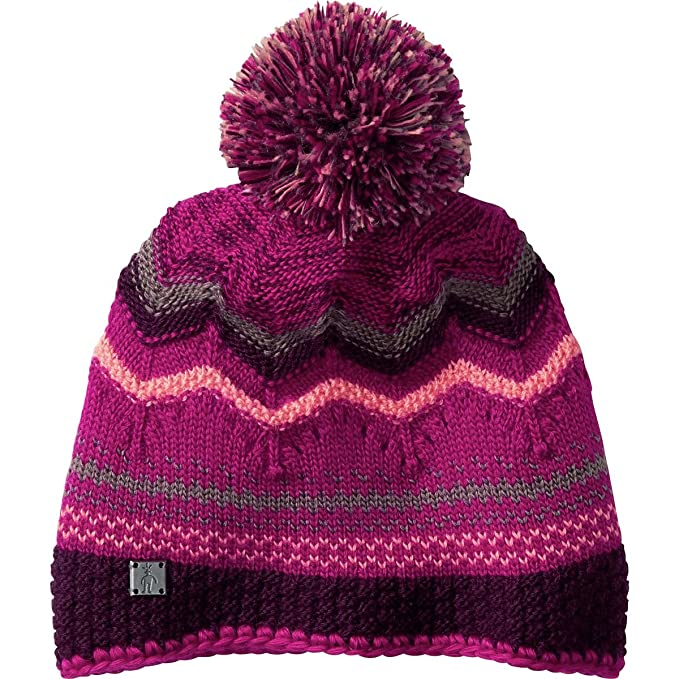 4b26b611ac8 Amazon.com  SmartWool Unisex Pine Lake Chevron Hat Berry Hat One Size   Sports   Outdoors