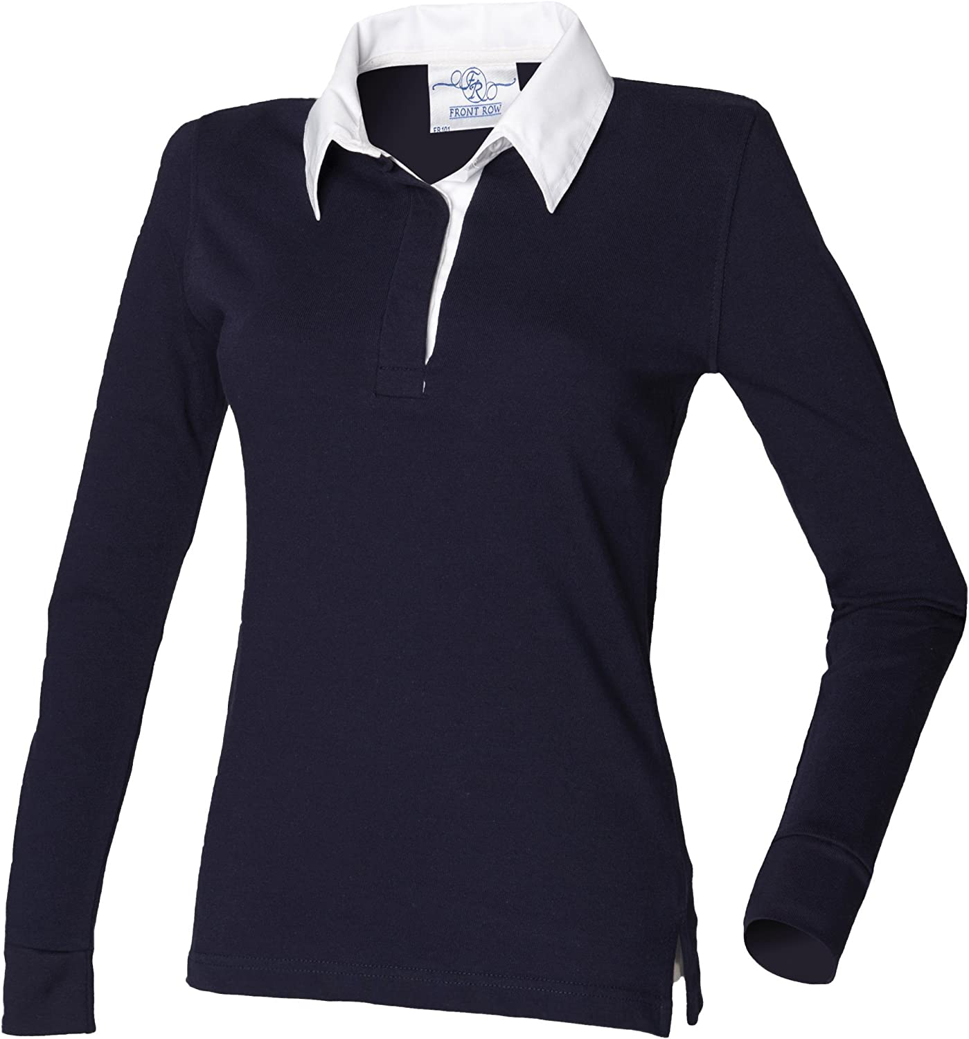 Front Row Polo Manica Lunga Donna