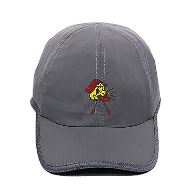 398ebd7585d1e Men s Trucker Cap Cool Waterproof Snapbacks Fitted Embroidered Cuckoo Call  Custom Ball Hat
