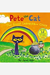 Pete the Cat: The Great Leprechaun Chase: Includes 12 St. Patrick's Day Cards, Fold-Out Poster, and Stickers! Hardcover