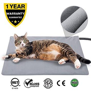 Amazon.com: Almohadilla de calentamiento para mascotas para ...