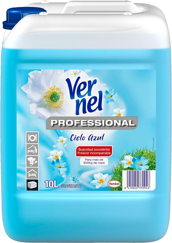 Vernel Professional Suavizante Cielo Azul - 10 l: Amazon.es ...