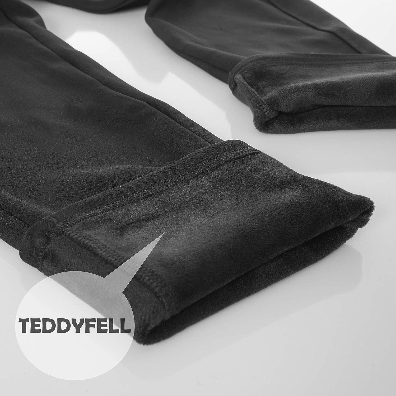con interno in pile Pantaloni termici da donna Kendindza foderati