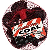 3.4 Oz. Bags of Coal Palmer Double Crisp Chocolaty Candy Naughty Lump (Pack of 2)