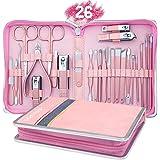 AUTENPOO Manicure Set, Pedicure Kit 26 In 1 Manicure Kit, Professional Nail Kit For Pedicure & Manicure, Pedicure Tools With