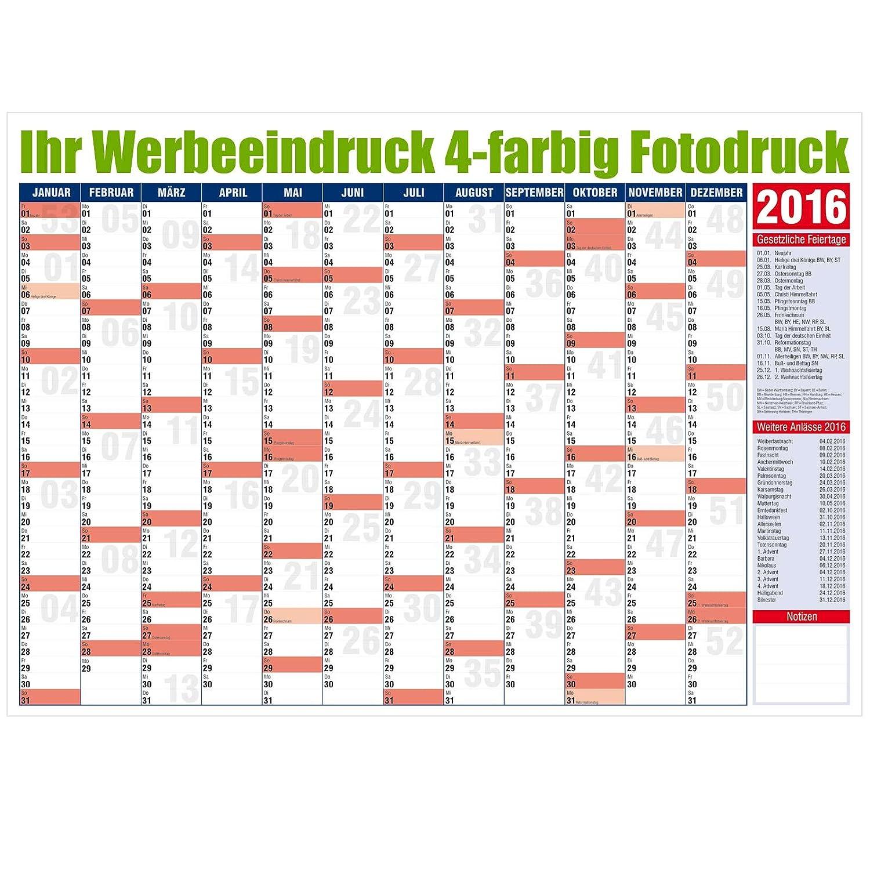 Jahresplaner 2018 Wandplaner Terminplaner A1 groß