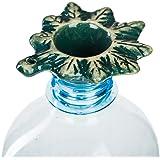 """Green Leaf"" handmade pottery gravity bong accessory. Non-Toxic glaze"