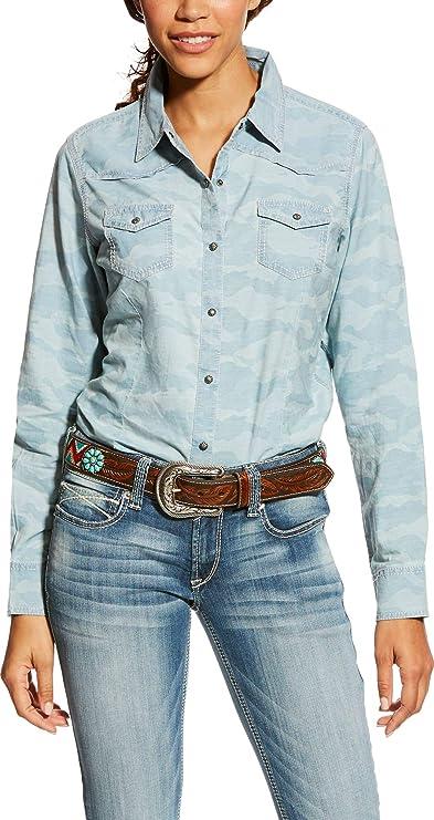 650132f33 Ariat Kirby - camisa vaquera para Mujer