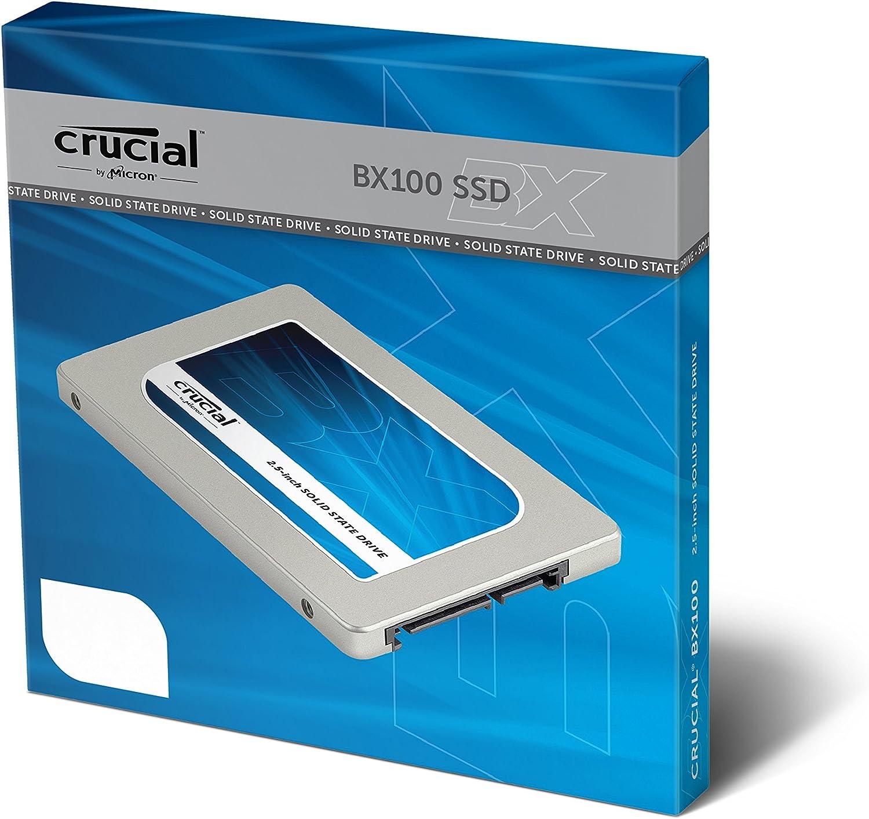 Crucial BX100 - Disco Duro sólido (500 GB, Serial ATA): Amazon.es ...
